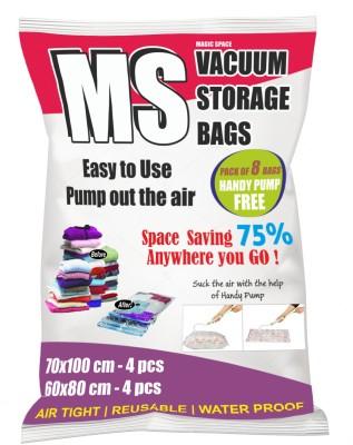 Magic Space 8 bag 2016 High Volume Storage Vaccum Bags(Pack of 9)