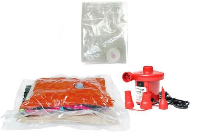 Shrih SH-1110 Electric AC Air Pump High Volume Storage Vaccum Bags(Pack of 3)