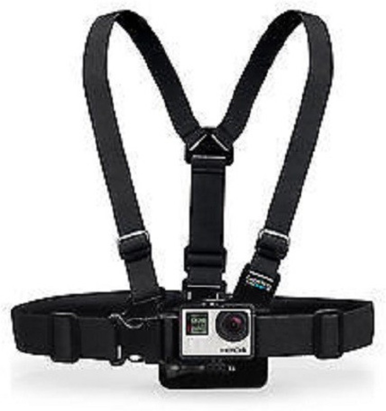 Tuzech Gopro Camera chest harness mount Belt Hero 2 ,3, 3plus Strap(Black)
