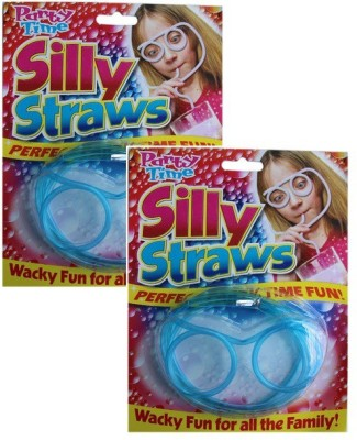 Silly Goggle Drinking Straw