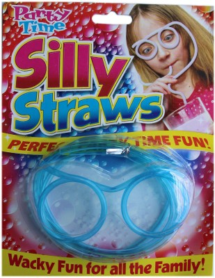 Party Time Goggle Drinking Straw