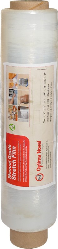 Optimanovel 40 cm 1485 ft Hand Stretch Film(0.4 mil)