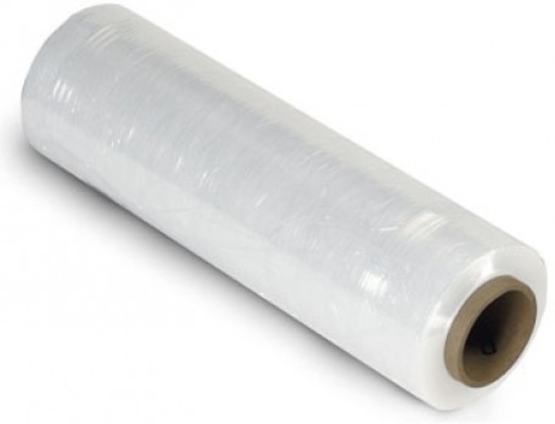 VIR 45 cm 1.5 ft Hand stretch film roll(1 mil)
