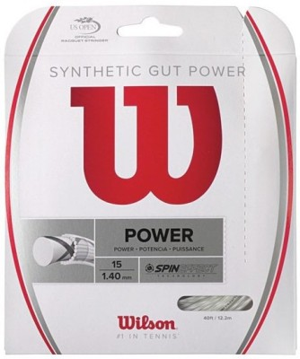 Wilson Synthetic Gut Power 16L Tennis String - 12.2 m