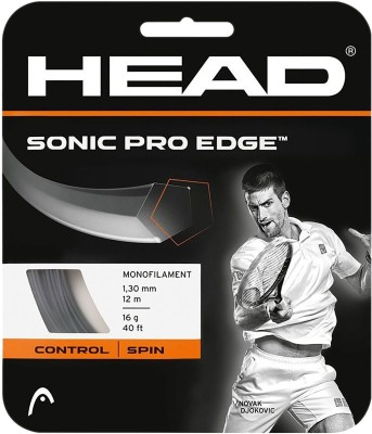 Head Sonic Pro Edge 16 Tennis String - 12 m(Grey)