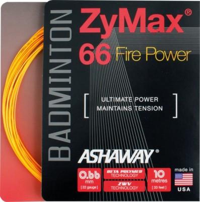 Ashaway ZyMax 66 Fire Power 0.66mm Badminton String - 10 m