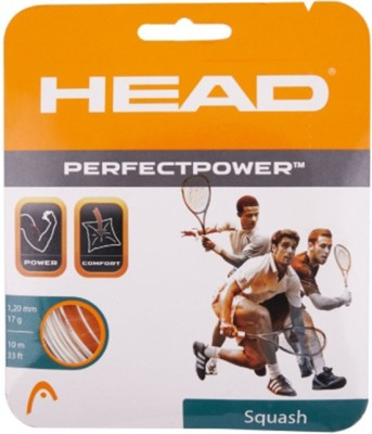 Head PERFECT POWER 17L-WHITE 17L Squash String - 10 m