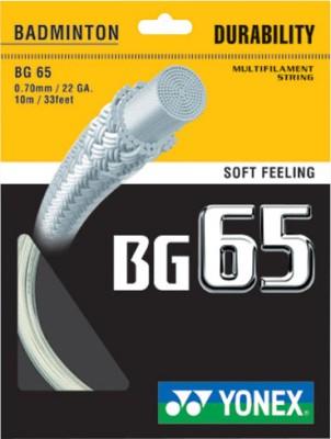 Yonex BG 65 0.70 mm Badminton String - 10 m