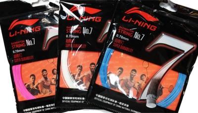 Li-Ning No. 7 Pack of 3 0.70MM Badminton String - 10 m