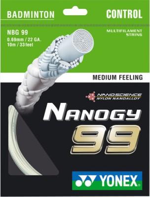 Yonex Nano GY 99 0.69 mm Badminton String - 10 m