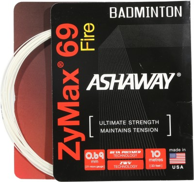 Ashaway Zymax 69 Fire 0.69 mm Badminton String - 10 m