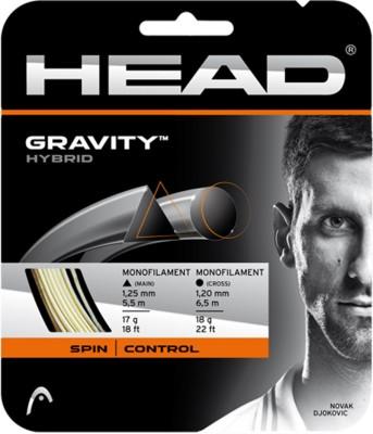 Head Gravity hybrid 18L Tennis String - 6.5 m
