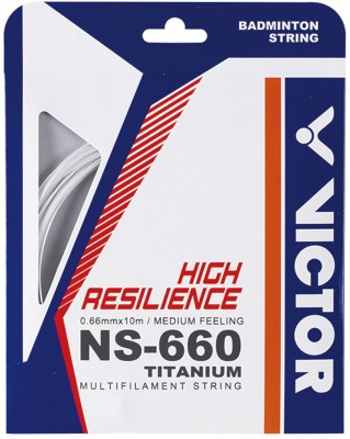 Victor NS-660 Ti-A 0.66 mm Badminton String - 10 m