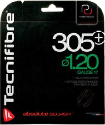 Tecnifibre PU Black 305 Plus Noir Squash String