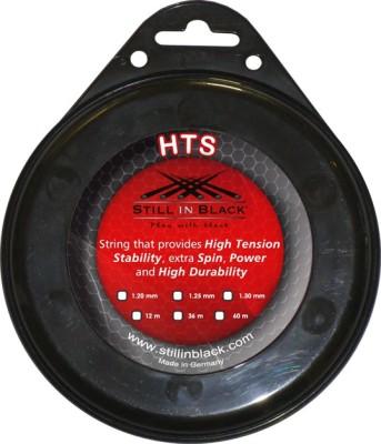 Still In Black HTS 1.30mm Tennis String - 12 m
