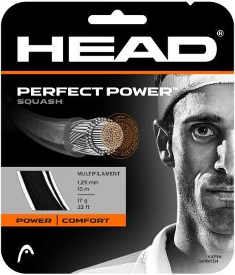 Head PERFECT POWER 16L-BLACK 16L Squash String - 10 m