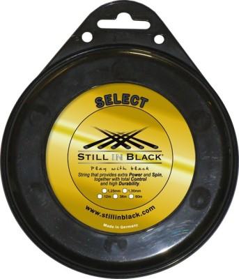 Still In Black Select -Single Racquet Tennis String 1.30mm Tennis String - 12 m