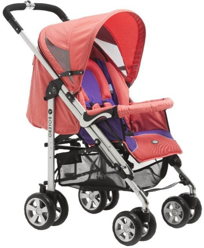 Zooper BU806D-Canyon Red Stroller Pram Pad