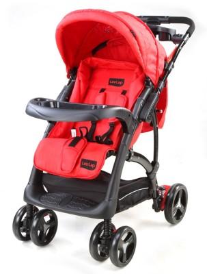 Luvlap Sports Baby Stroller(Red, Black)