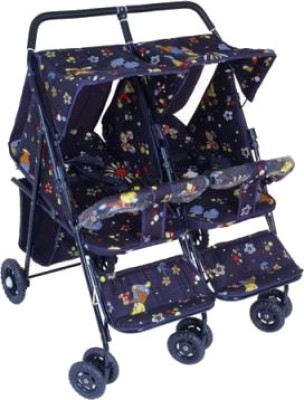 New Natraj Avon Twins Pram