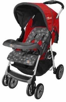 The Li,l Wanderers Stroller HA Grey&Red