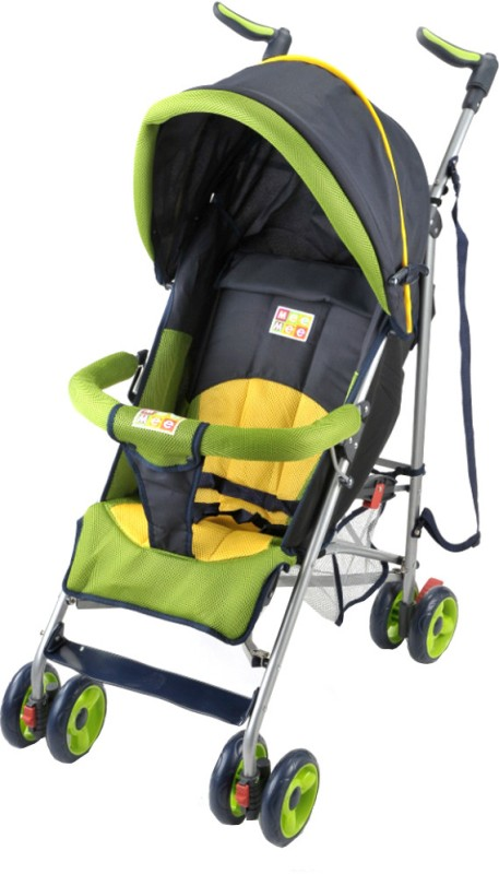 Mee Mee Baby Stroller(Multi Positions, Green)