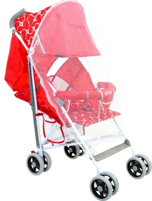 Luvlap Comfy Baby Buggy(Red)