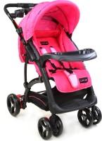 LuvLap Sports Baby Stroller(Pink, Black)
