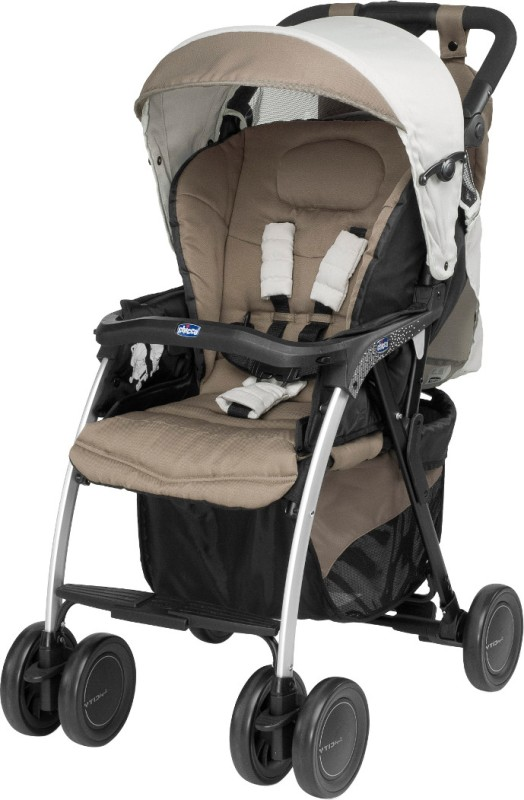 Chicco Simplicity Plus Stroller(3 Position, Grey)