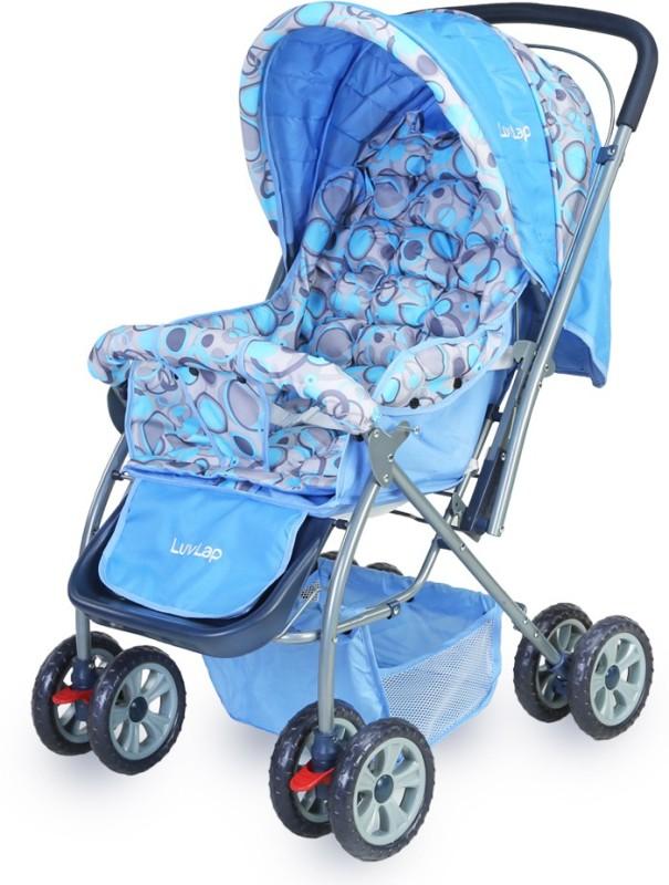 LuvLap Starshine Baby Stroller(3 Position, Blue)