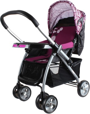abdc kids Baby Pram Stroller With Reversible HandleBar European Styling