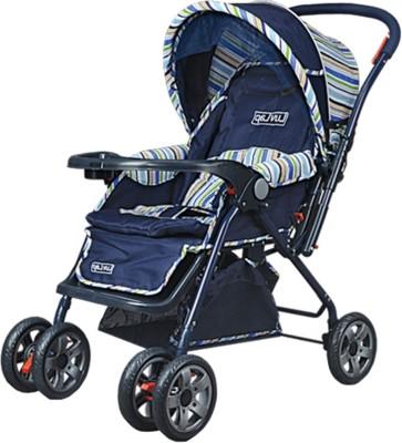 Luvlap Comfy Baby Stroller(Blue)
