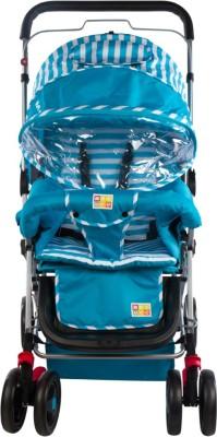 Mee Mee Fully Canopied Pram(Blue)