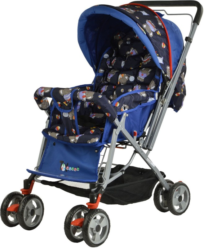 Toy House Baby Stroller(Blue)