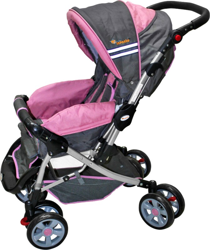 Infanto D'Zire Baby Stroller(3 Position, Pink)