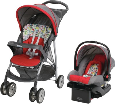 Graco LiteRider Click Connect Travel System - Typo