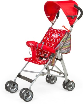 Luvlap Sunshine Baby Buggy(Red)