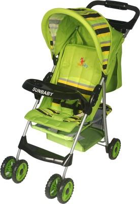 Sunbaby Baby Buggy cum Stroller(Green)