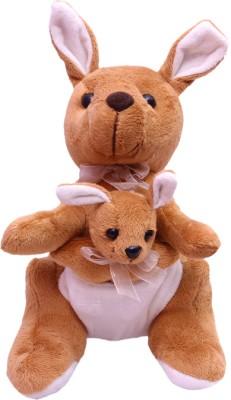 Gallibazaar Kangaroo And Baby In Pouch  - 12 inch