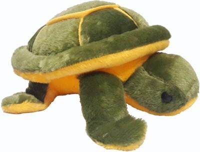 Wish kart Turtle Stuffed Soft Toy.  - 32 cm(Green)