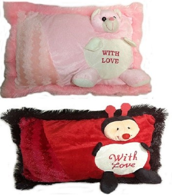 Cuddles Soft Love Pillows Combo  - 17 inch