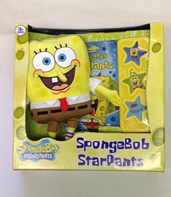 Nickelodeon Spongebob Square Pants Play A Sound Book And Spongebob Plush