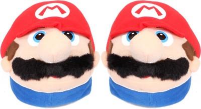 Emerge Mario Soft Toy Slipper  - 10 inch