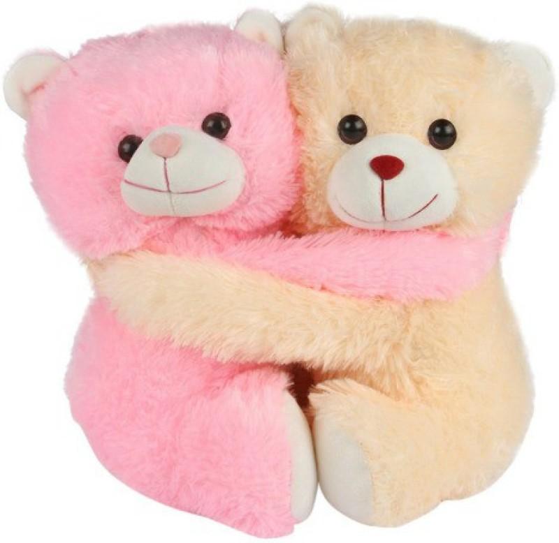 Ktkashish Toys Kashish Cute Couple Teddy  - 8 inch(Pink)