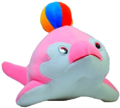 Gs Kidz Toys Dolphin With Ball M  - 32 cm
