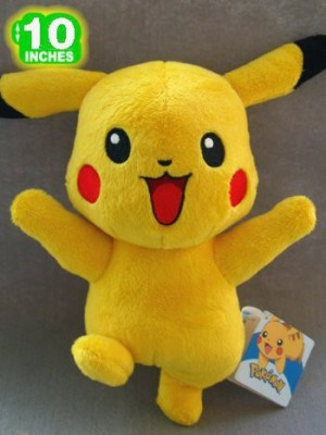 Pokemon Happy Pikachu Plush 10Inch