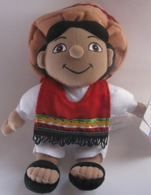 Disney Bean Bag Plush It,S A Small World Mexico Boy
