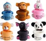 Aarushi Stuffed Toys Pen Holder  - 16 cm...