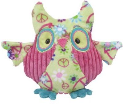 Douglas Cuddle Toys Logan Green Peace Owl 13