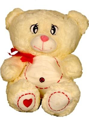 Montez Cream Teddy Bear Soft Toy  - 42 cm